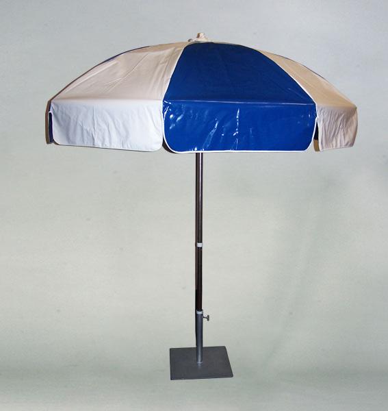 Signature Party Rentals Umbrella Blue Amp Wht Rentals